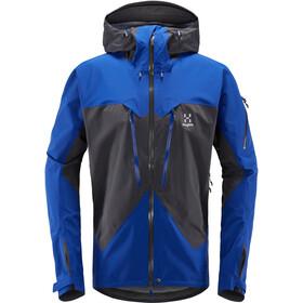 Haglöfs Spitz Jacket Herr magnetite/cobalt blue